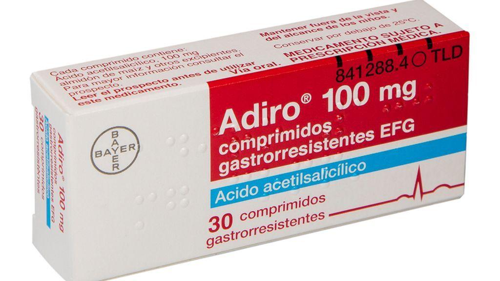 Adiro, el segundo medicamento más vendido en España, con problemas de suministro