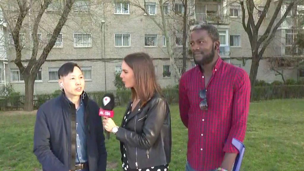 Dos extranjeros, un camerunés y un chino, son simpatizantes de VOX: explican por qué