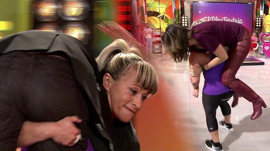 """Pepitator lanza a Kiko H. y Paz Padilla por los aires: """"Me ha metido la prótesis para dentro"""""""