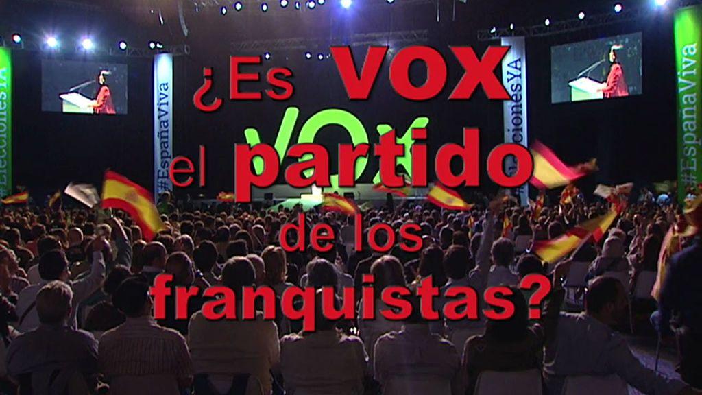 Los lazos que unen a Vox con Franco