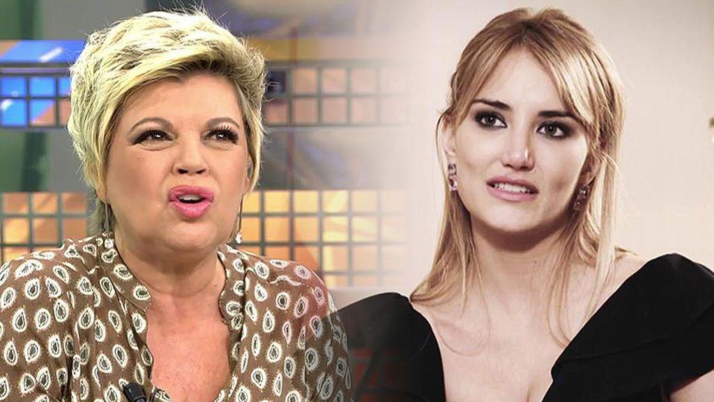 """Terelu Campos: """"Alba me confirmó que fue ella quien puso fin a la relación con Courtois"""""""