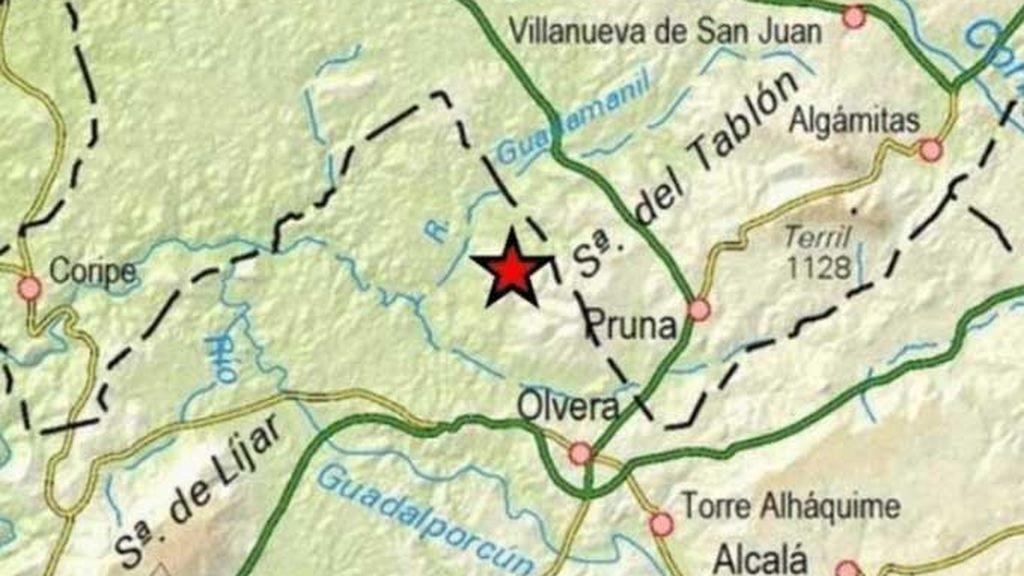 Un terremoto de magnitud 4 hace temblar la localidad gaditana de Olvera