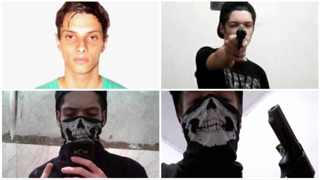 Guilherme y Luiz Henrique, los jóvenes que han perpetrado la masacre en un colegio de Brasil