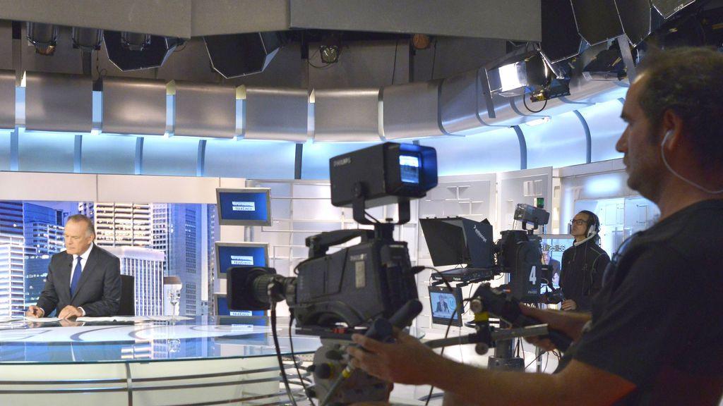 Plató de Informativos Telecinco
