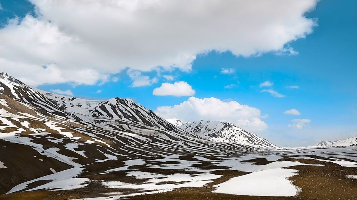 La mitad de nieve al final del invierno por la ausencia de nevadas y el calor de febrero