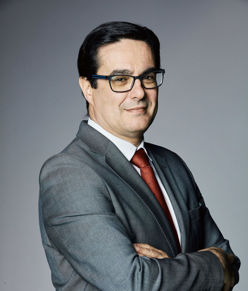 Eugenio Fernández, director de División de Tecnologías