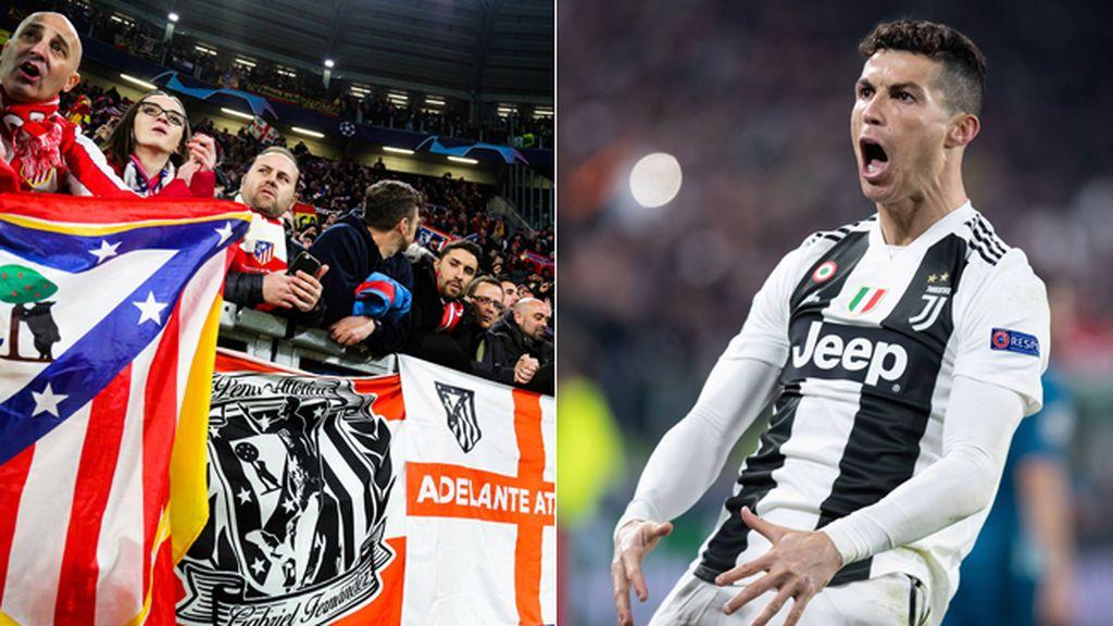 Las imágenes que demuestran que Cristiano hizo su gesto obsceno a la afición del Atlético