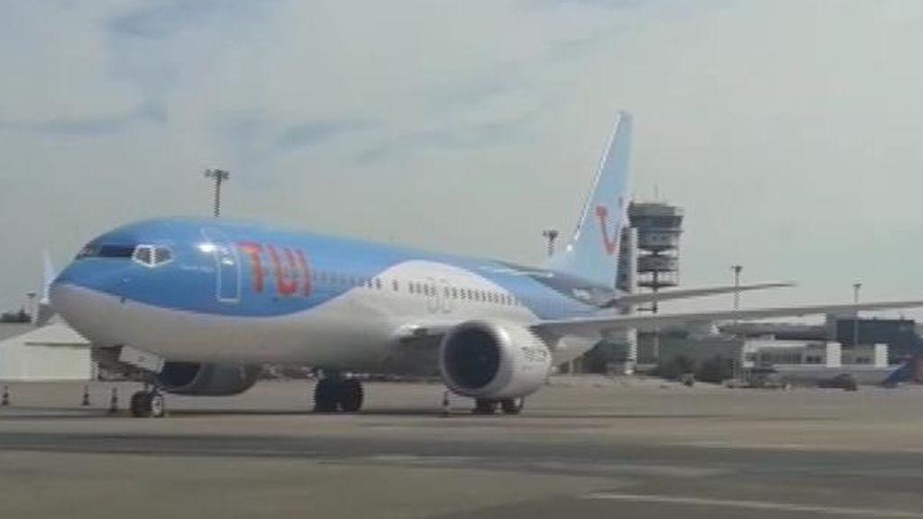 Un Boeing 737 Max, inmovilizado en el aeropuerto de Alicante por el veto de la UE