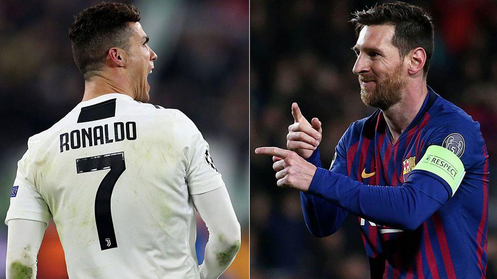 ¿Quién es más favorito para ganar la champions: la Juve de Cristiano o el Barça de Messi?