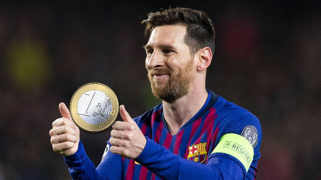La oferta más surrealista de Wallapop: Venden por 5 euros una moneda de un euro... tocada por Messi