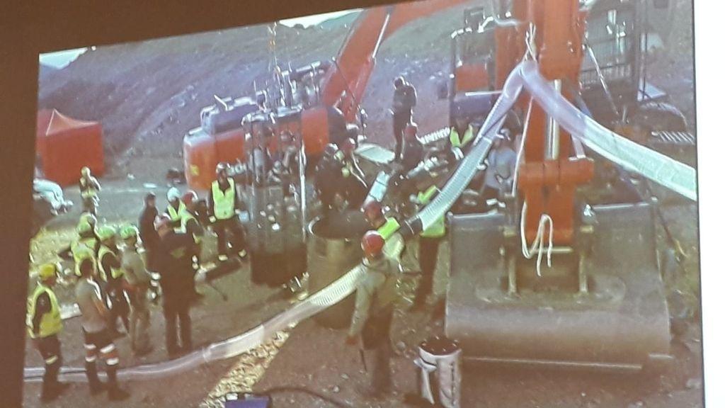 Las fotografías que nunca has visto del rescate de Julen