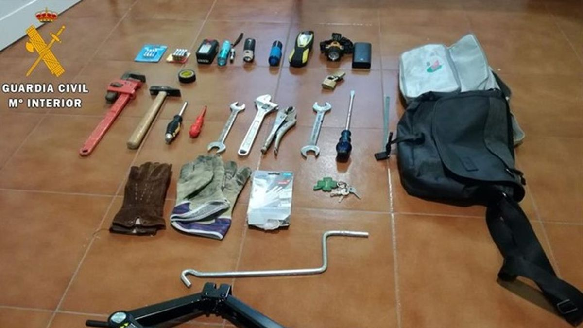 Detienen a dos hombres por robar en la vivienda de Manuela Carmena en Segovia