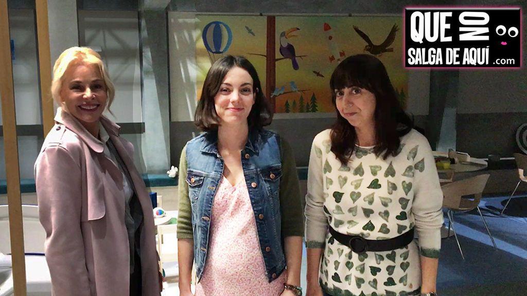"""Belén Rueda y sus """"Madres"""" nos cuelan en el rodaje de la nueva serie de Telecinco"""