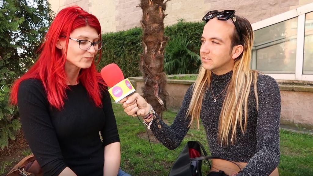"""La reacción de Aless Gibaja al escuchar lo que la gente piensa sobre él: """"Vistes raro"""""""