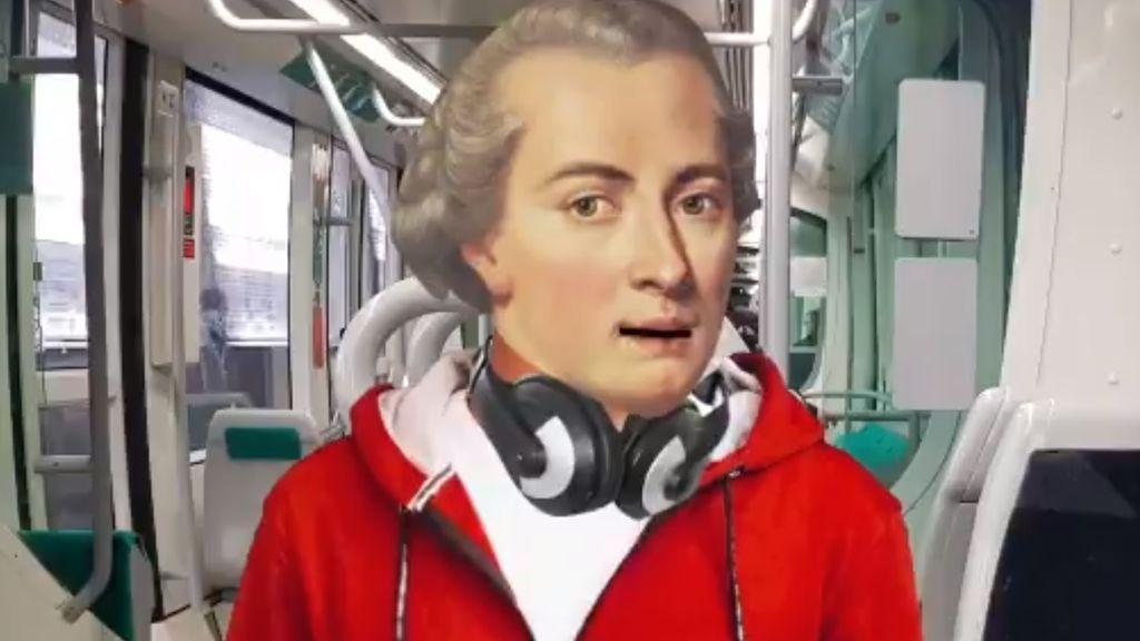 Después de 'Velaske, yo soi guapa' llega 'Al tram pensa en Kant', el nuevo trap viral sobre civismo