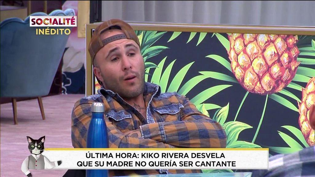 Inédito 'GH DÚO'   Kiko Rivera desvela que su madre no quería ser cantante