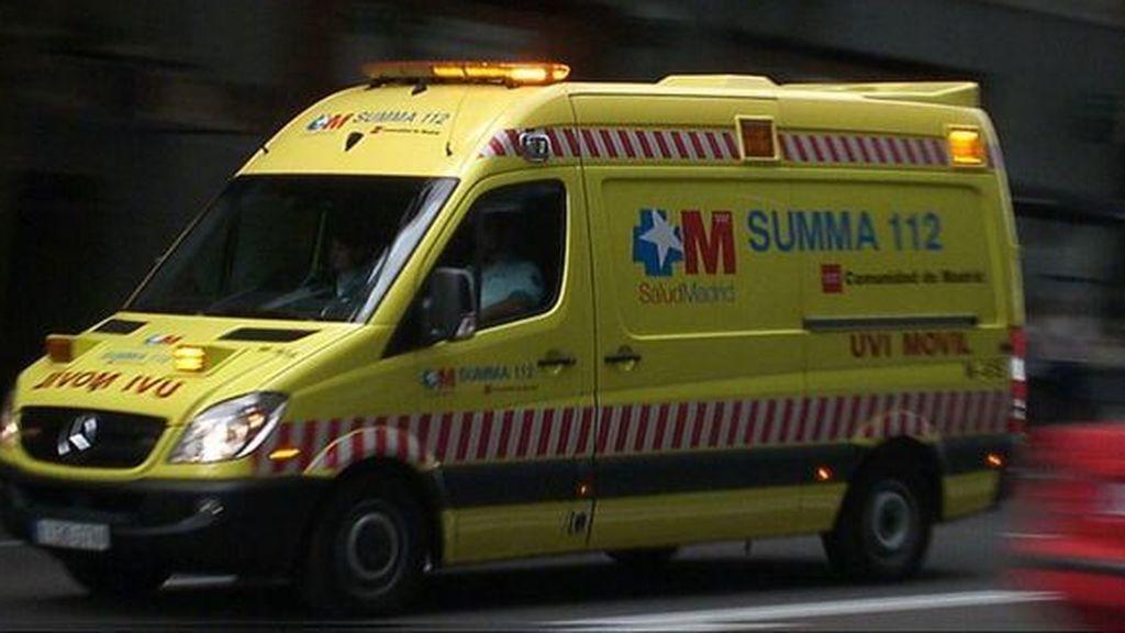 Cuatro jóvenes heridos en un atropello múltiple en Guadarrama