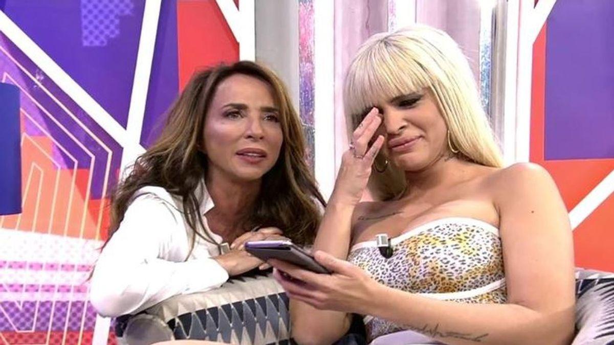 Ylenia se emociona con la llamada de su padre y desvela qué ha ocurrido con Tejado fuera 'GH DÚO'