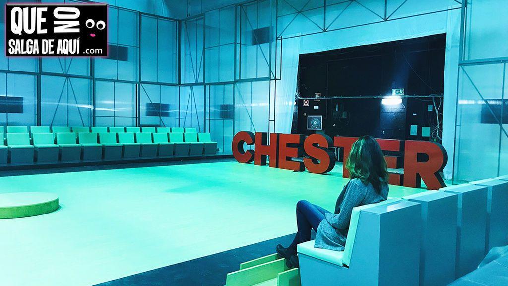 Chester cerró temporada pero... un nuevo programa ya se ha instalado en su plató