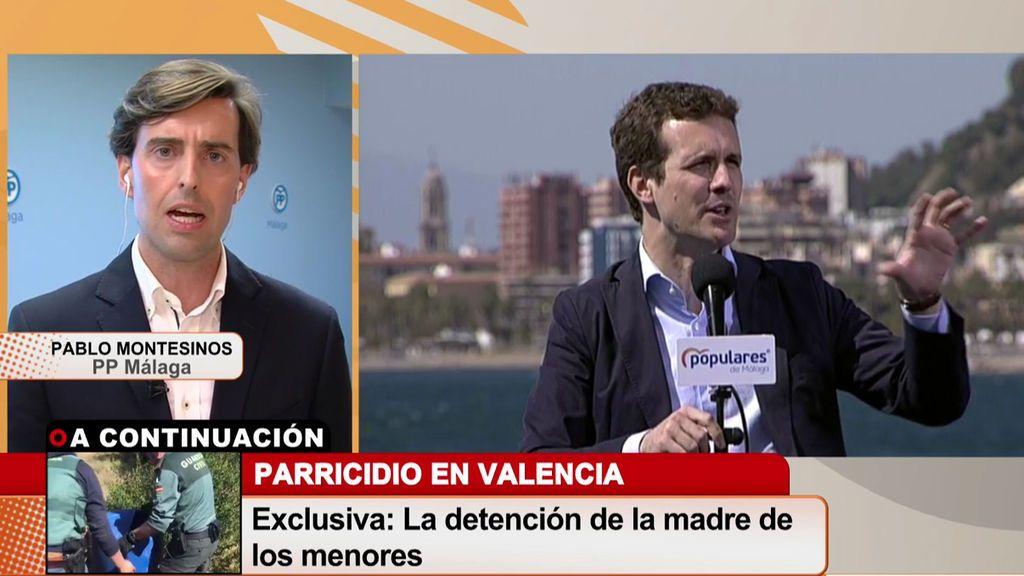 Pablo Montesinos: 'Si tengo que criticar a Casado, lo haré'