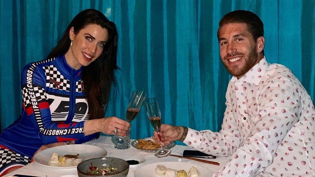"""La romántica felicitación de Sergio Ramos a Pilar Rubio en su 41 cumpleaños: """"Llenaste mi vida de complicidad y pasión"""""""