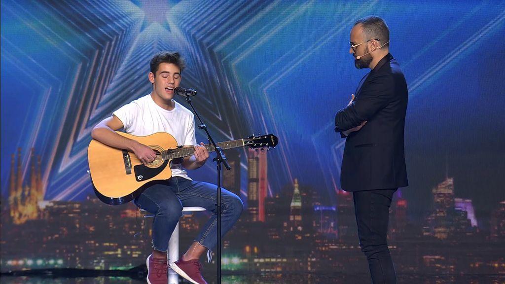 """Risto pone al límite los miedos y el gran talento de Pol G.: """"Vas a volver a cantar, conmigo al lado, mirándote"""""""