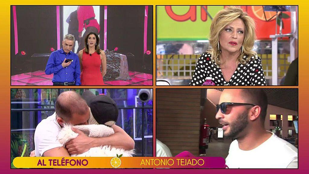 Antonio Tejado pide disculpas a Kiko Hernández (porque le quiere una 'jartá') pero le deja un recadito a Lydia Lozano...