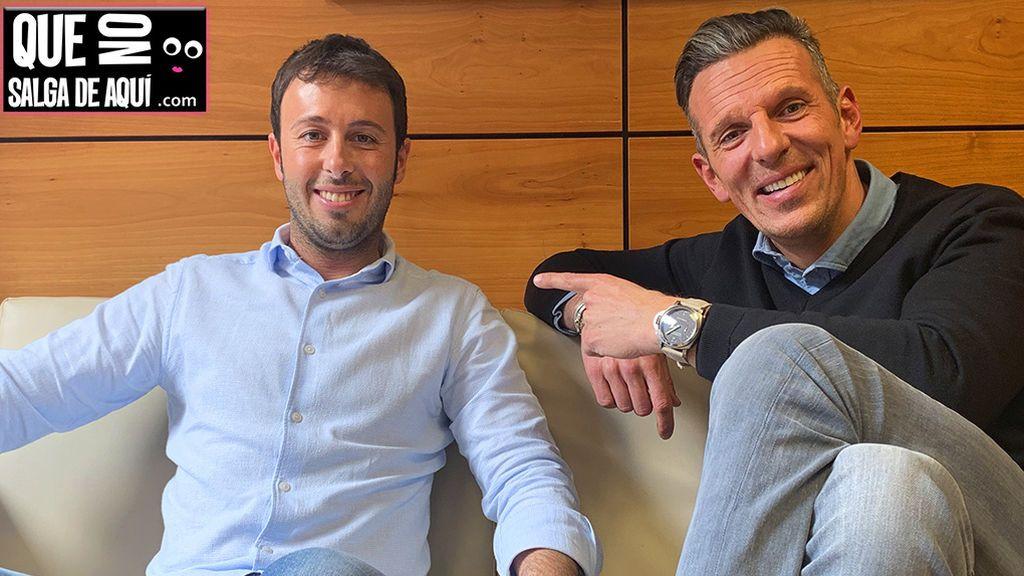 """Encuentro sorpresa de los """"primos"""" Joaquín Prat y Matías Prats: """"El destino nos junta de nuevo en Telecinco"""""""