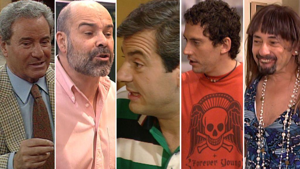 Los padres míticos que vimos en las ficciones de Telecinco