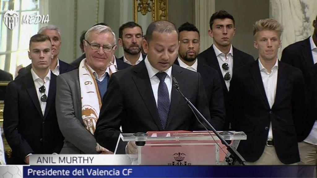 El Valencia celebra por todo lo alto su Centenario