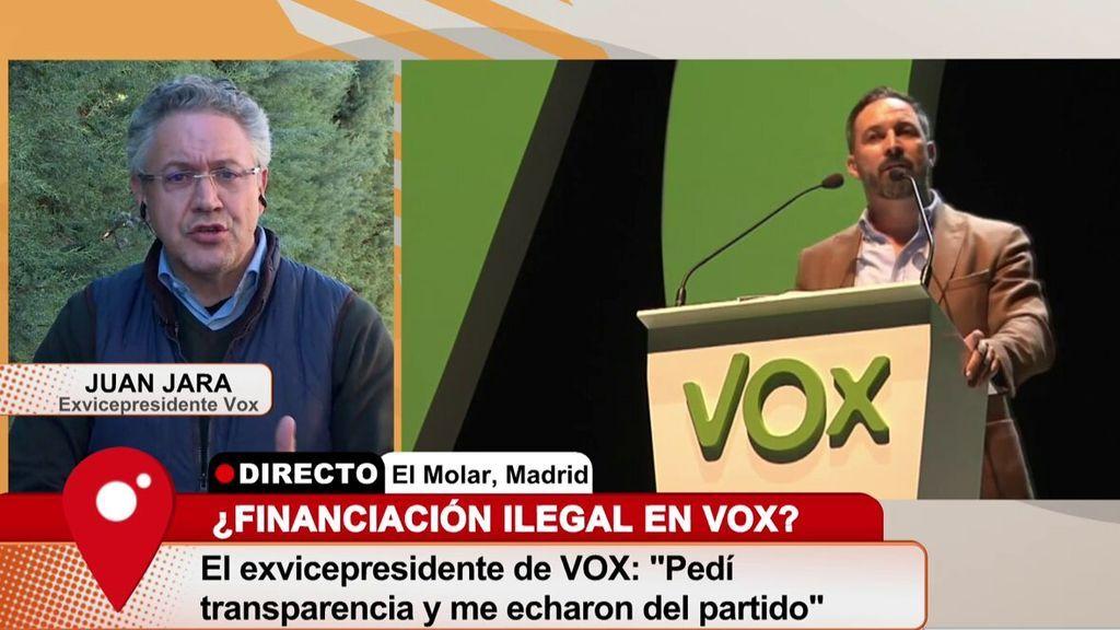 Juan Jara: 'Denuncié a VOX por financiación ilegal, pero esta terminó archivada'