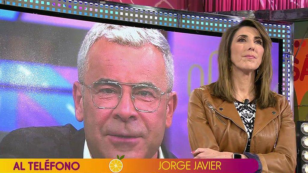 """Jorge Javier Vázquez interviene en directo tras sufrir un ictus: """"Las consecuencias podrían haber sido nefastas"""""""