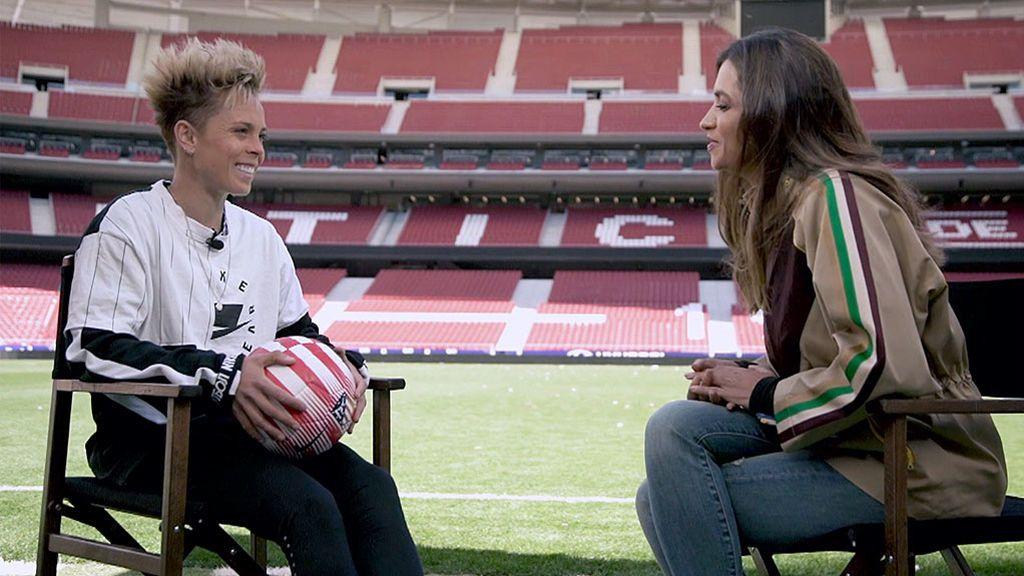 La entrevista completa, con imágenes exclusivas, de Sara Carbonero a Amanda Sampedro
