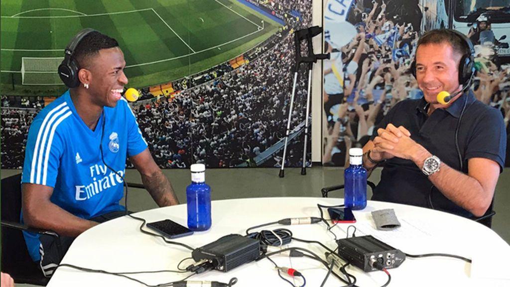 """Vinicius: """"Quiero ganar el Balón de Oro con 25 o 26 años, en plena madurez"""""""