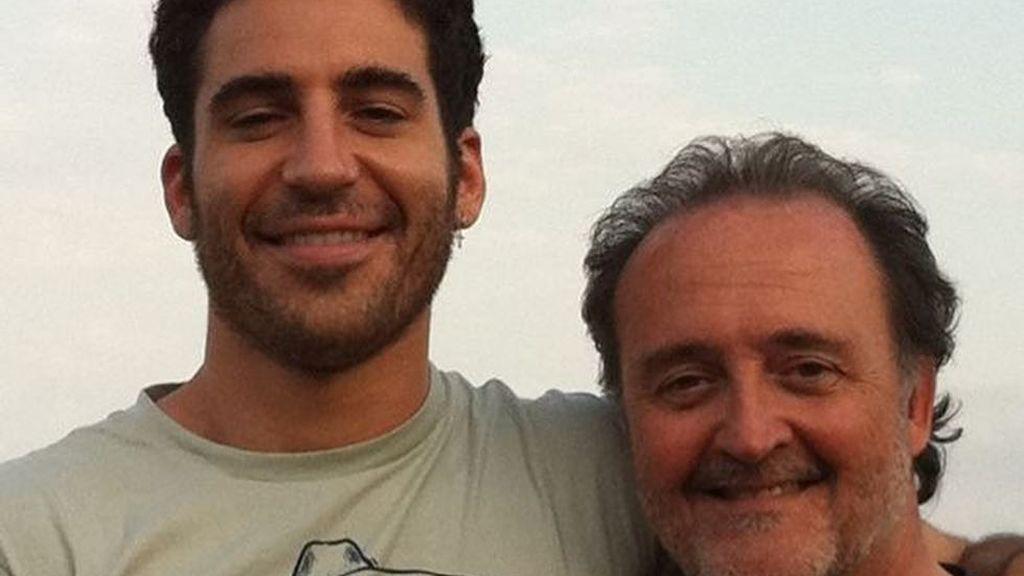 """El emotivo recuerdo de Miguel Ángel Silvestre a su padre : """"Esta es la herencia que me dejó"""""""