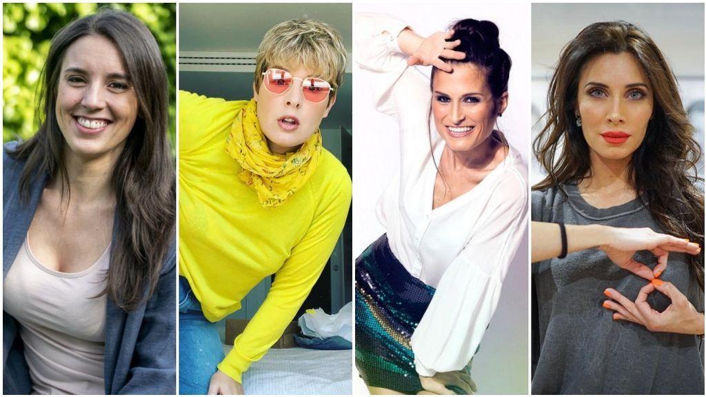 Irene Montero, Pilar Rubio, Tania Llasera… Las famosas celebran las ventajas de tener a los hijos seguidos