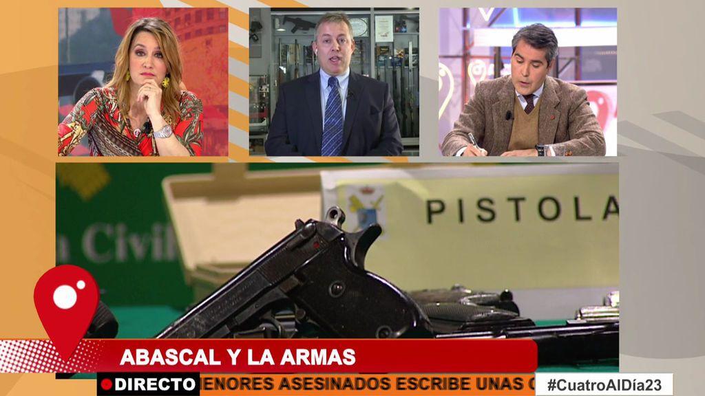 """Carme Chaparro desmonta al  Presidente de la Asociación del Arma: """"Si hay más armas, hay más crímenes"""""""