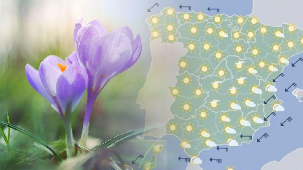 El tiempo que nos espera en primavera según la Aemet