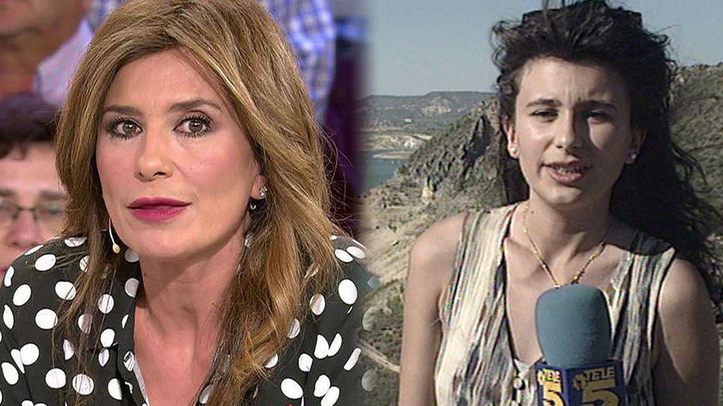 Gema López fue reportera en 'Informativos Telecinco' con 24 años