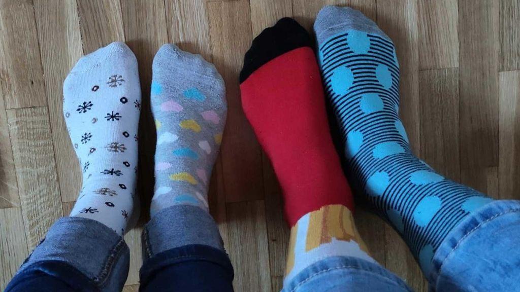 Los calcetines desparejados: el Down se vuelve viral