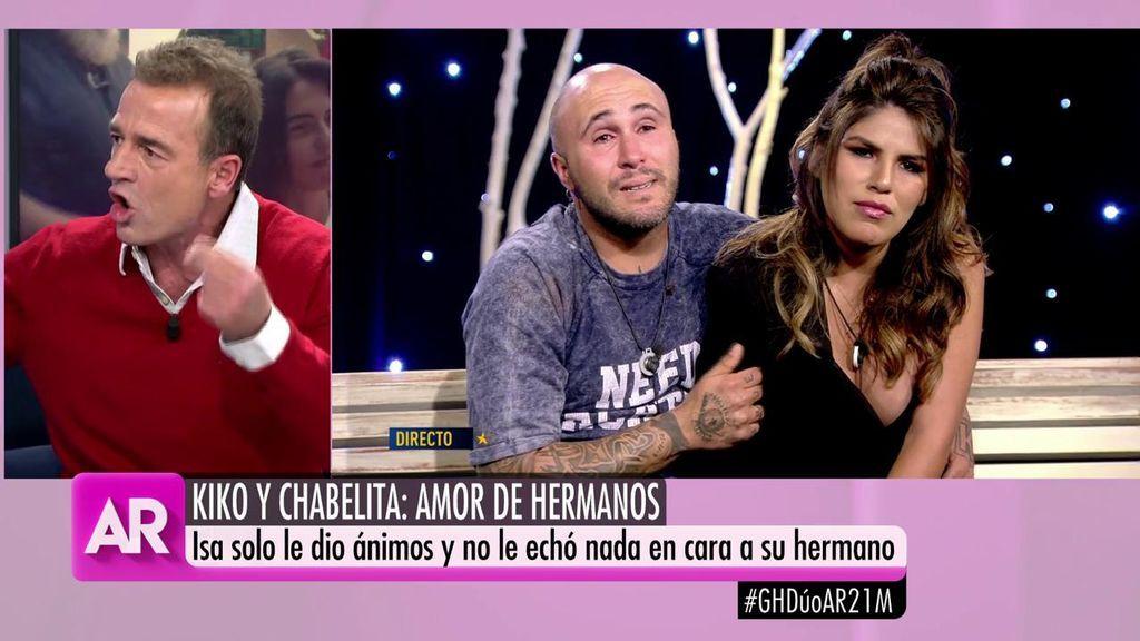 """Lequio: """"Kiko Rivera tiene muy presente que Chabelita no es igual a él"""""""
