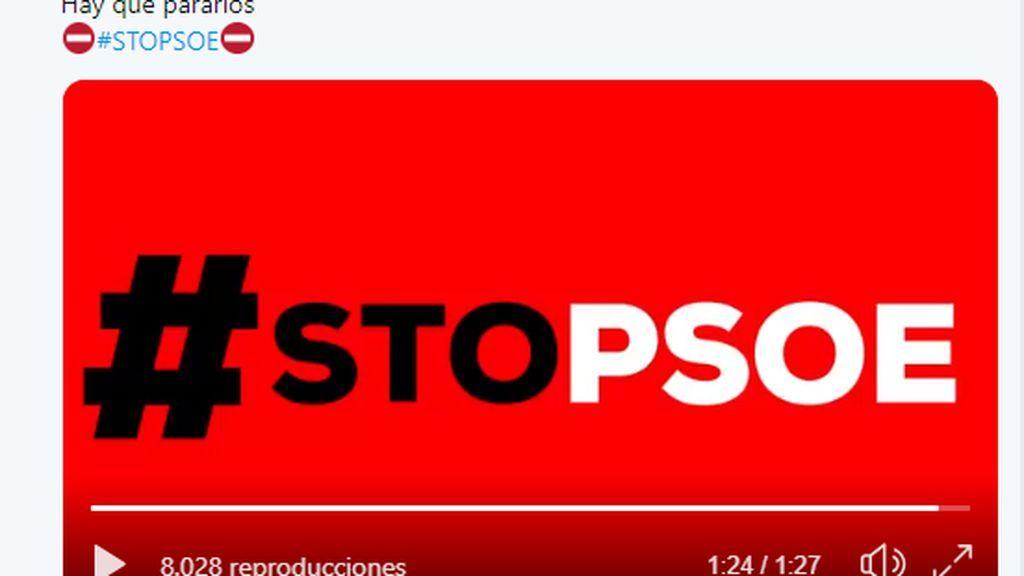 El PP lanza Stop PSOE en el que ataca sin piedad a su rival