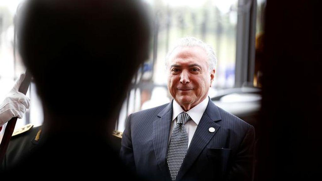 Después de Lula, detienen por presunta corrupción al expresidente Temer