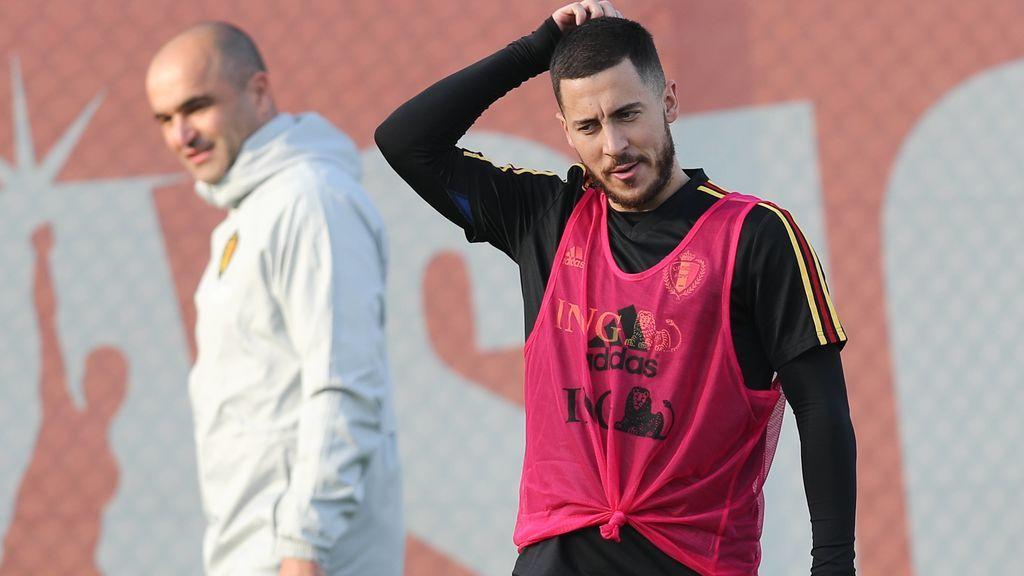 """Hazard: """"Zidane ha sido mi ídolo, gracias a él empecé a jugar al fútbol"""""""