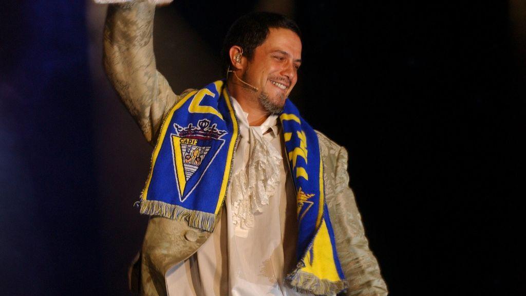 La propuesta del Cádiz a Alejandro Sanz ante su próximo concierto en Andalucía