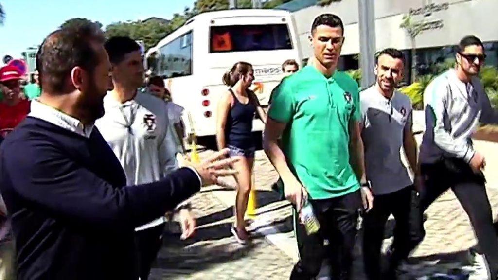 """La conversación de Cristiano Ronaldo y un periodista de Deportes Cuatro: """"¿Estás feliz?"""""""