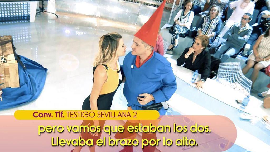 """Los testigos que vieron juntos a María Lapiedra y Gustavo González en Sevilla: """"Había un fotógrafo oficial haciéndoles fotos en pleno centro"""""""