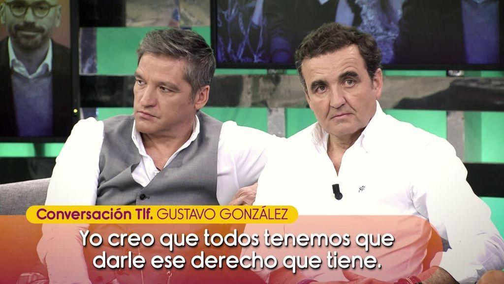 """Gustavo González responde ante la polémica de Diego Arrabal y Gema López: """"Yo jamás he dado un nombre"""""""