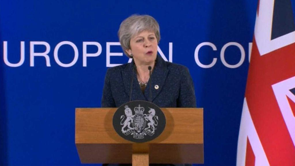 La UE da a Londres hasta el 12 de abril para decidir si quiere un Brexit caótico