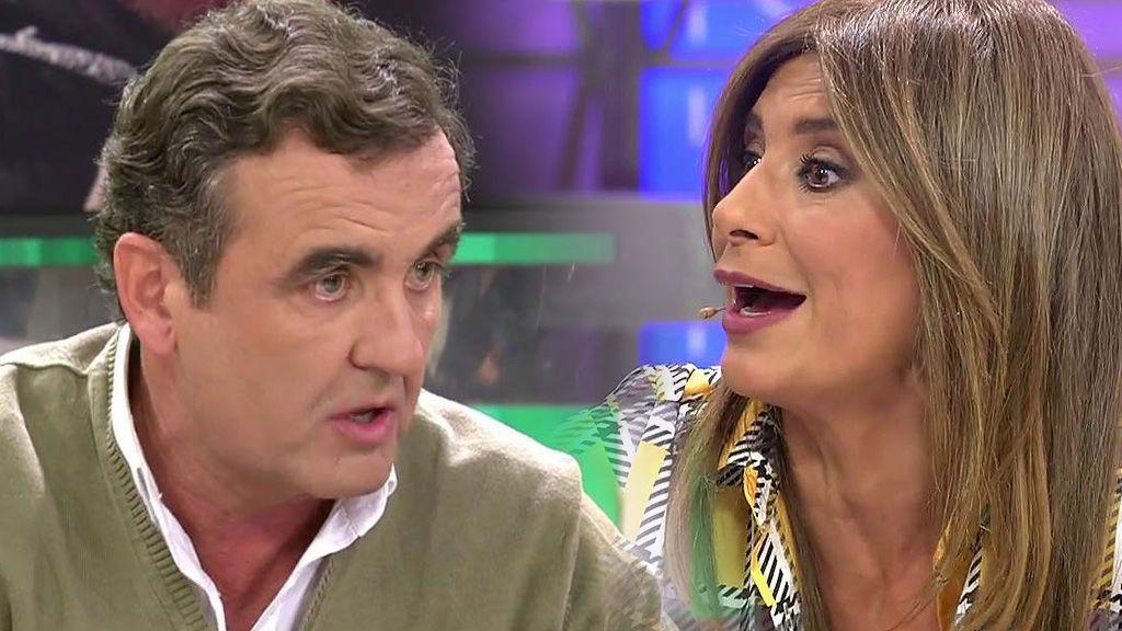 """Gema López se harta y estalla contra Antonio Montero: """"¡Ahora eres tú quien siembre la duda por defender a Gustavo!"""""""